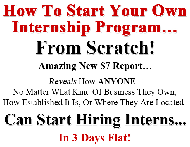 How to hire an intern your blueprint for creating an internship program malvernweather Images