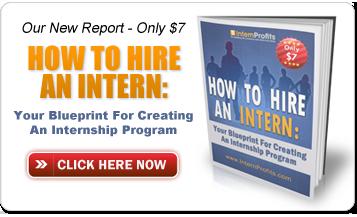 How to hire an intern internship program hiring interns follow internprofits on twitter malvernweather Gallery