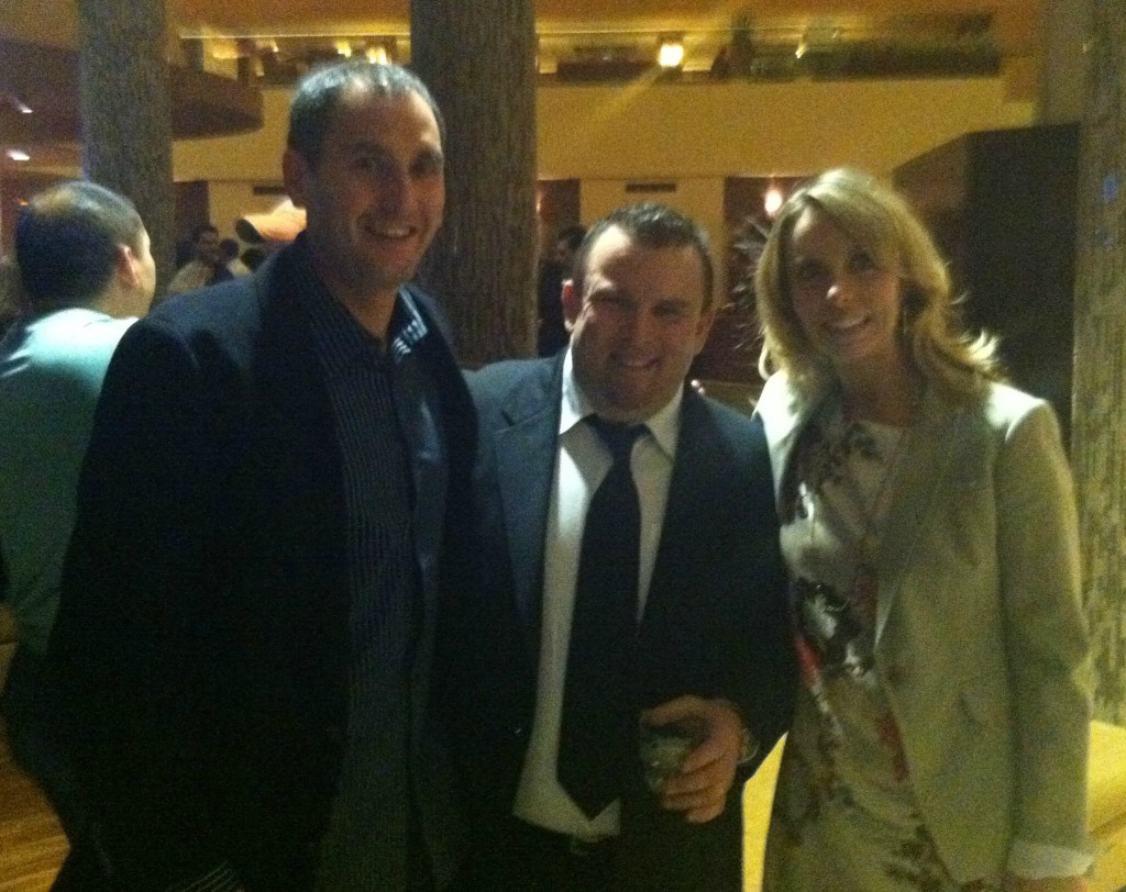 Intern Profits Founders Justin & Dreama Lee With Event Host Perry Belcher